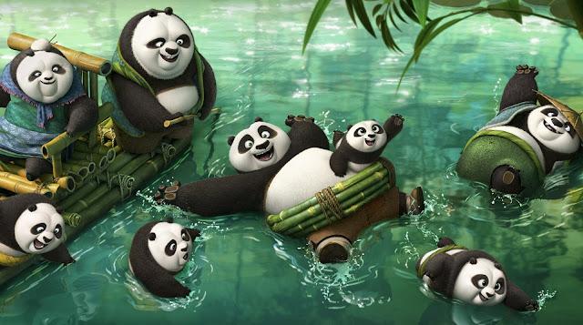kung fu panda 3 movie still