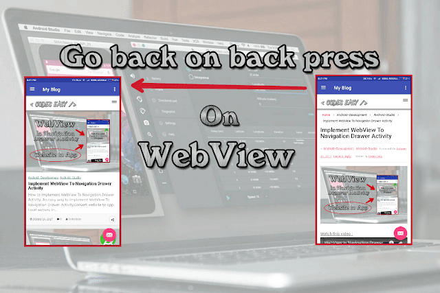 How to Go Back on WebView