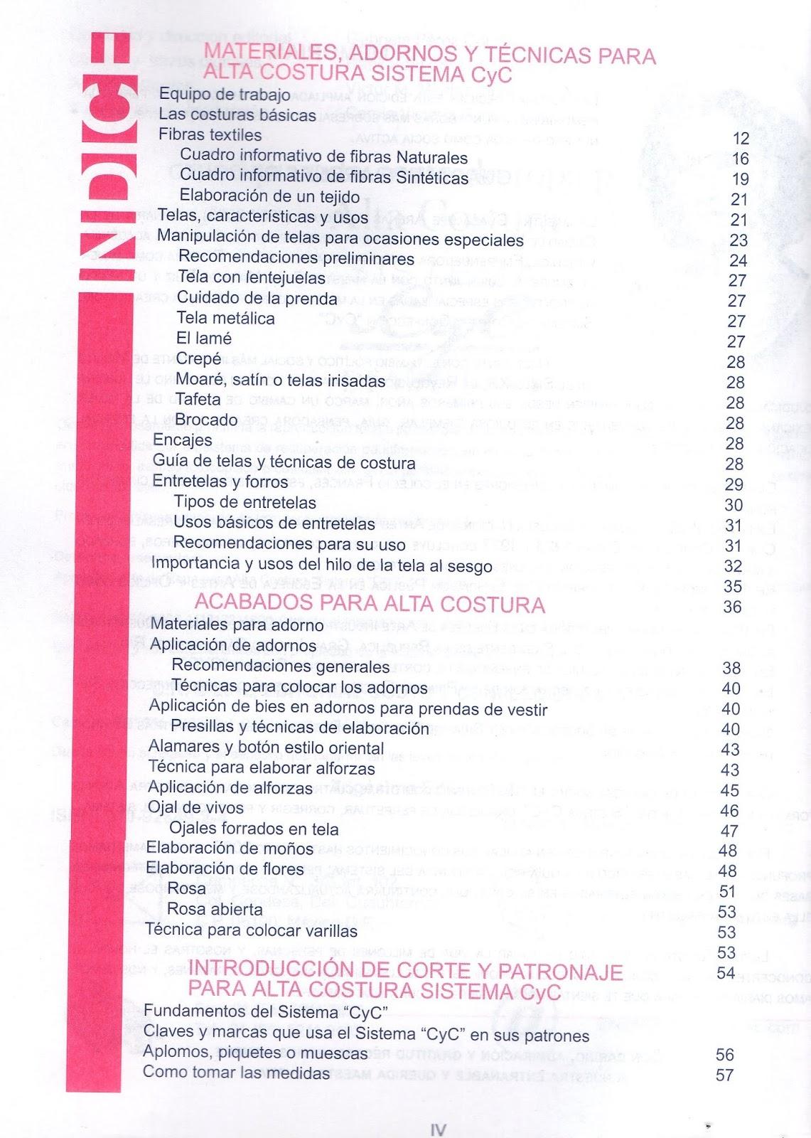 Coleccion 3 tomos Costura Sistema CYC Material A TU Medida