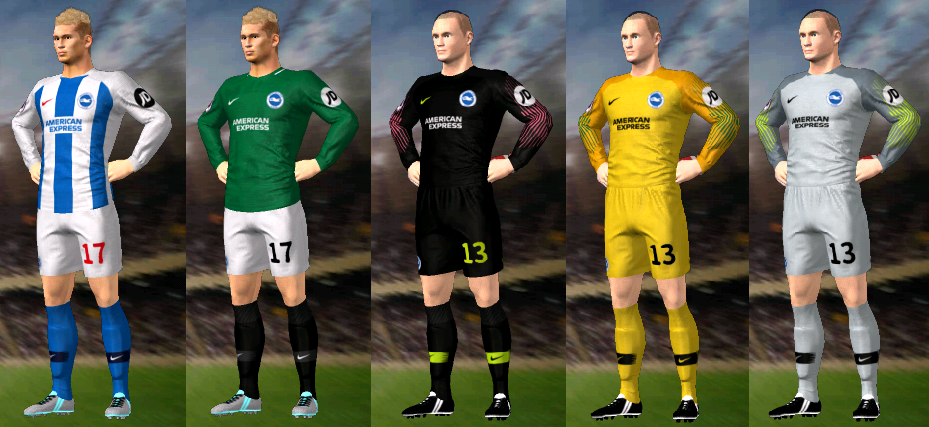 Kits/Uniformes Brighton & Hove Albion