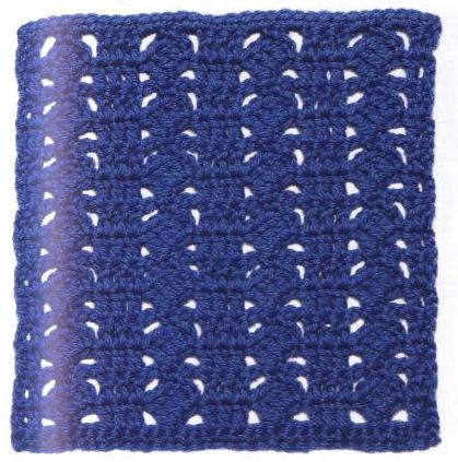 Patrón #1110: Granny a Crochet.