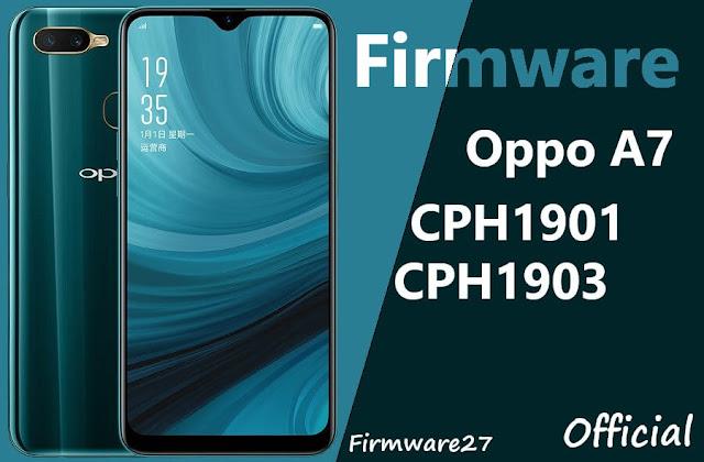 Firmware & Tool Oppo A7 / AX7 CPH1901, CPH1903 Ofp File
