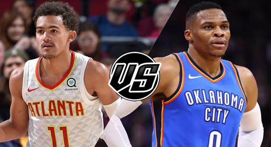 Live Streaming List: Atlanta Hawks vs Oklahoma City Thunder 2018-2019 NBA Season