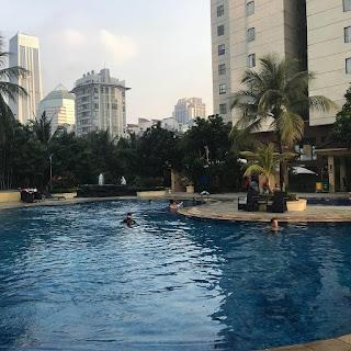 Hotel di Jakarta dengan kolam renang eksotis