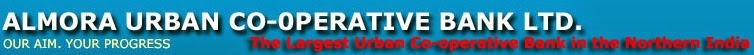 Almora Urban Co-Operative Bank ltd logo image pictures