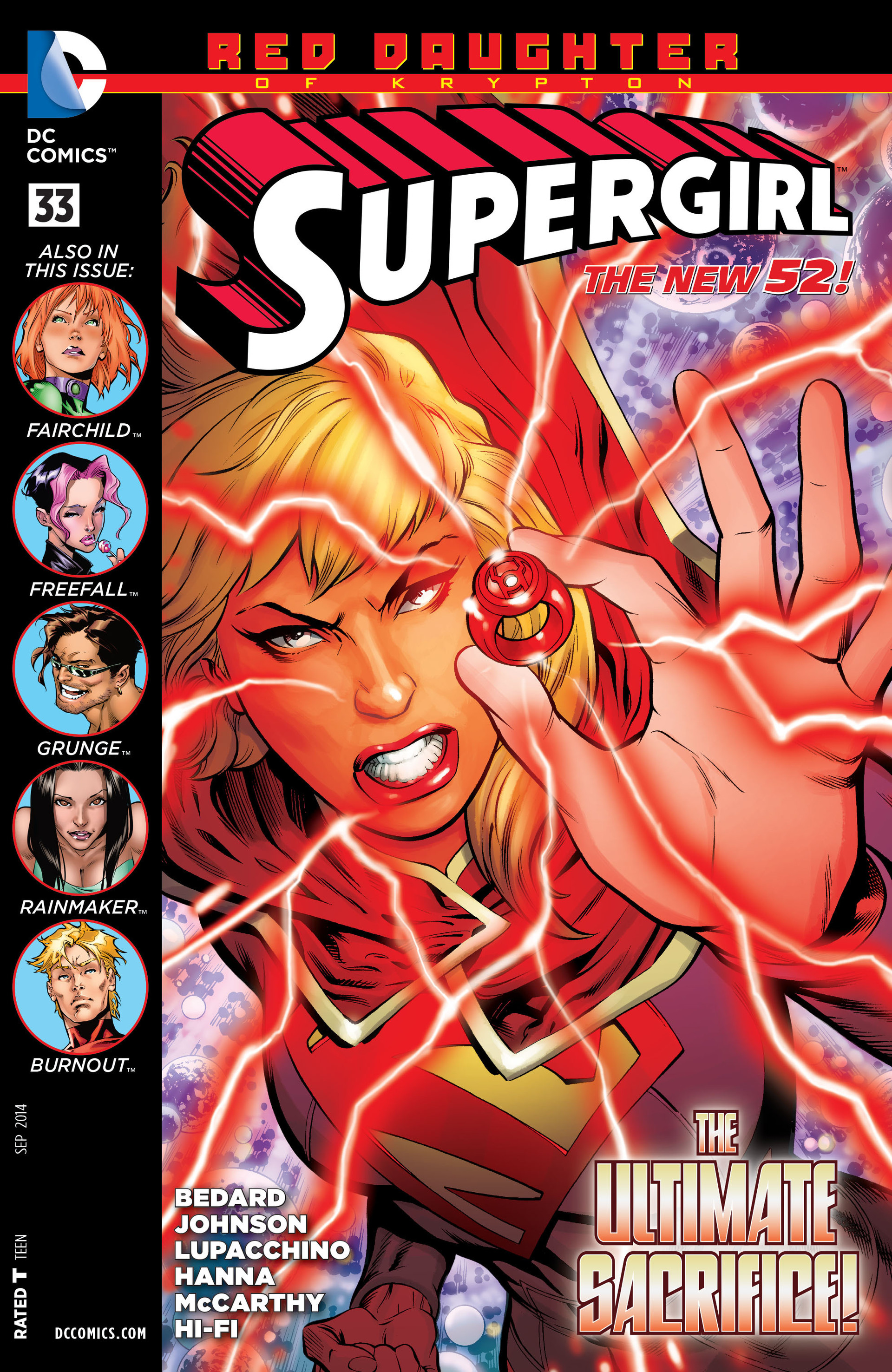 Supergirl (2011) issue 33 - Page 1