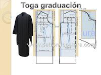 http://www.patronycostura.com/2016/06/diy-toga-graduacion-y-birrete-tema-170.html