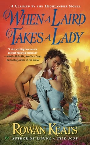 Addicted To Romance Book Review When A Laird Takes A Lady By Rowan