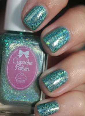 Cupcake Polish With Love, From Cancun