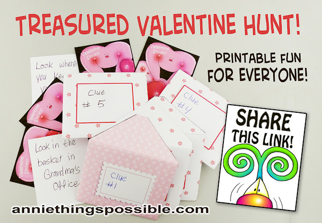 Download Annie Lang's FREE mini envelopes and get Valentine printable sheets from Annie Things Possible!