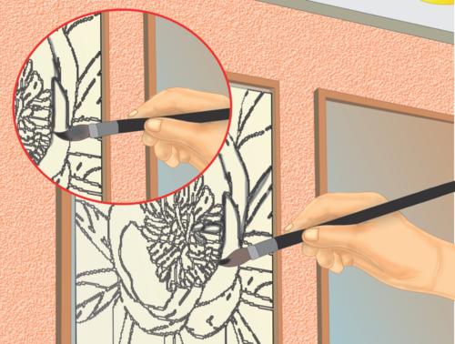 manualidades con vitrales