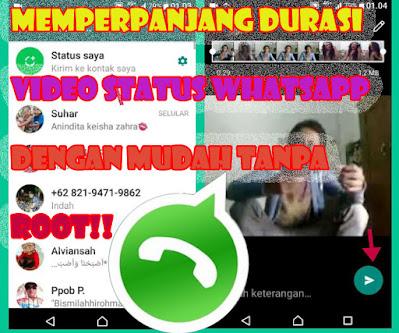 Cara, Memperpanjang, Durasi, Video, Status, Whatsapp, Tanpa, Root, Dengan, Aplikasi, wa, mod, split, for, trik, tutorial, android, 2021
