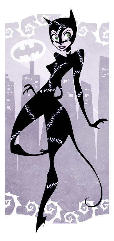 Fashion And Action: Quirky Catwoman Fan Art Gallery