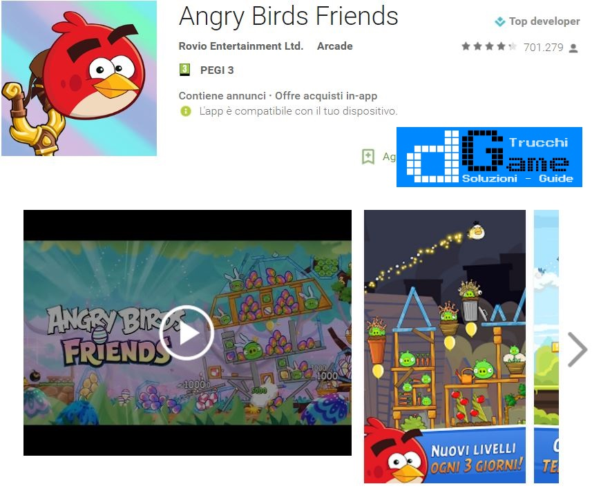 Trucchi Angry Birds Friends Mod Apk Android v2.1.3