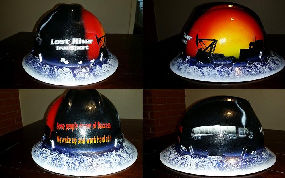 Custom Welding Helmets >> Zimmer DesignZ Custom Paint: most recent hard hats