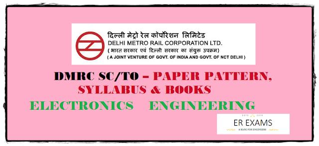 DMRC JE Electronics Paper Pattern