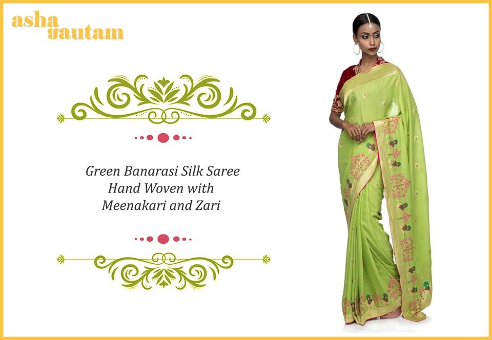 235030f9e1 The wedding season is knocking at the door. Every bride out there is  thinking of wearing the perfect sari for her marriage. Marriage is a holy  tie between ...