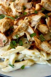 Grilled Chicken with Lemon Basil Pasta: Savory Sweet and Satisfying