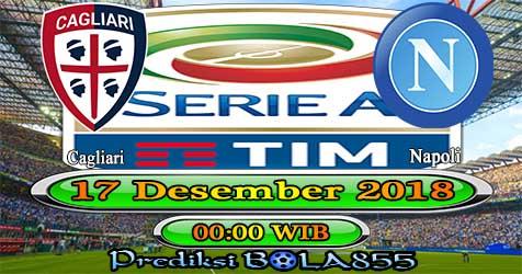 Prediksi Bola855 Cagliari vs Napoli 17 Desember 2018