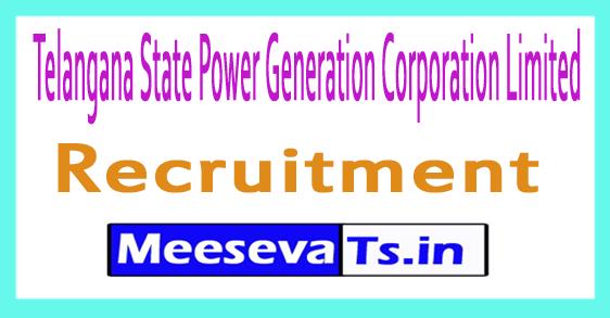 Telangana State Power Generation Corporation Limited TSGENCO Recruitment