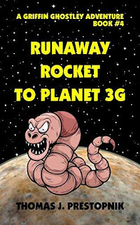 Runaway Rocket to Planet 3G - a pre-teen adventure free book promotion Thomas J. Prestopnik