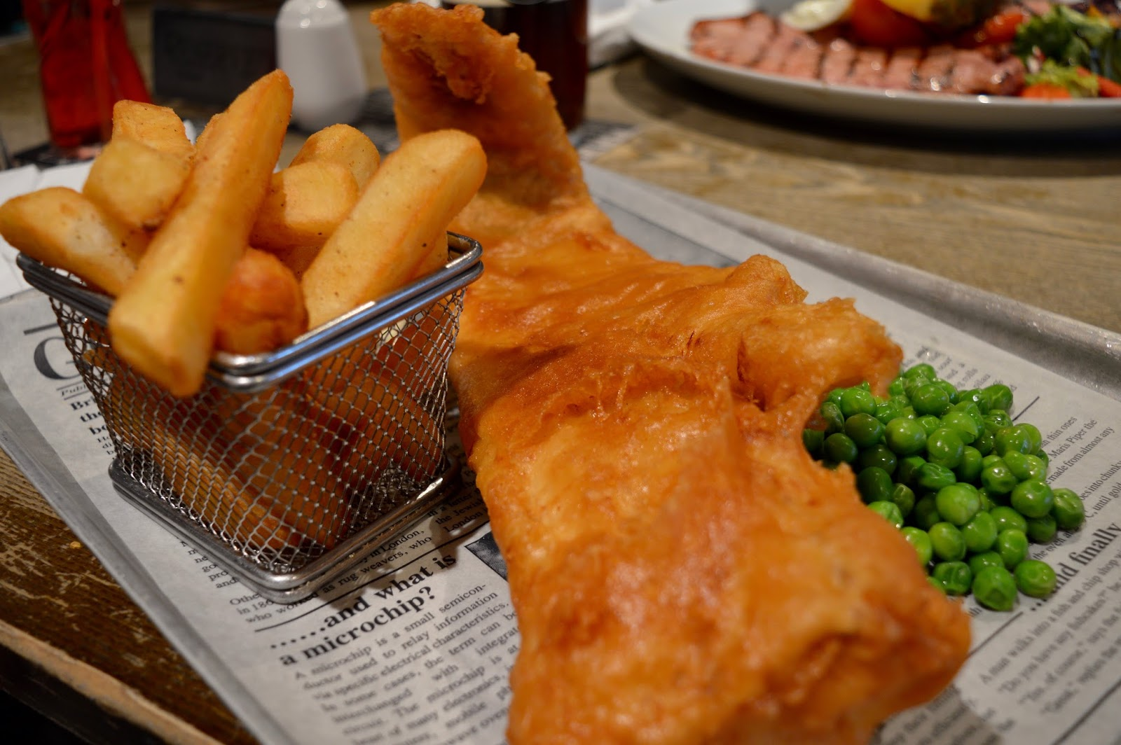 The Craster Arms, Beadnell | A Review featuring a very good Northumberland Country Pub.  - fish and chips