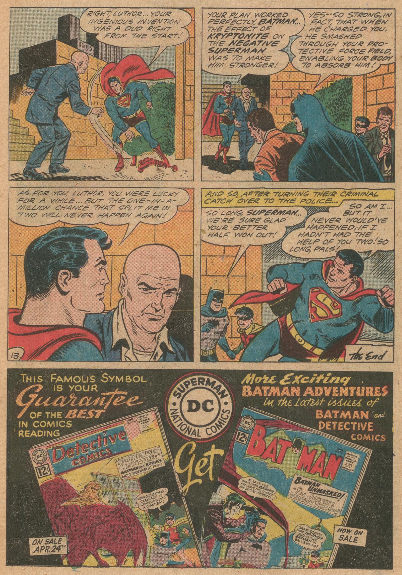 Read online World's Finest Comics comic -  Issue #126 - 14