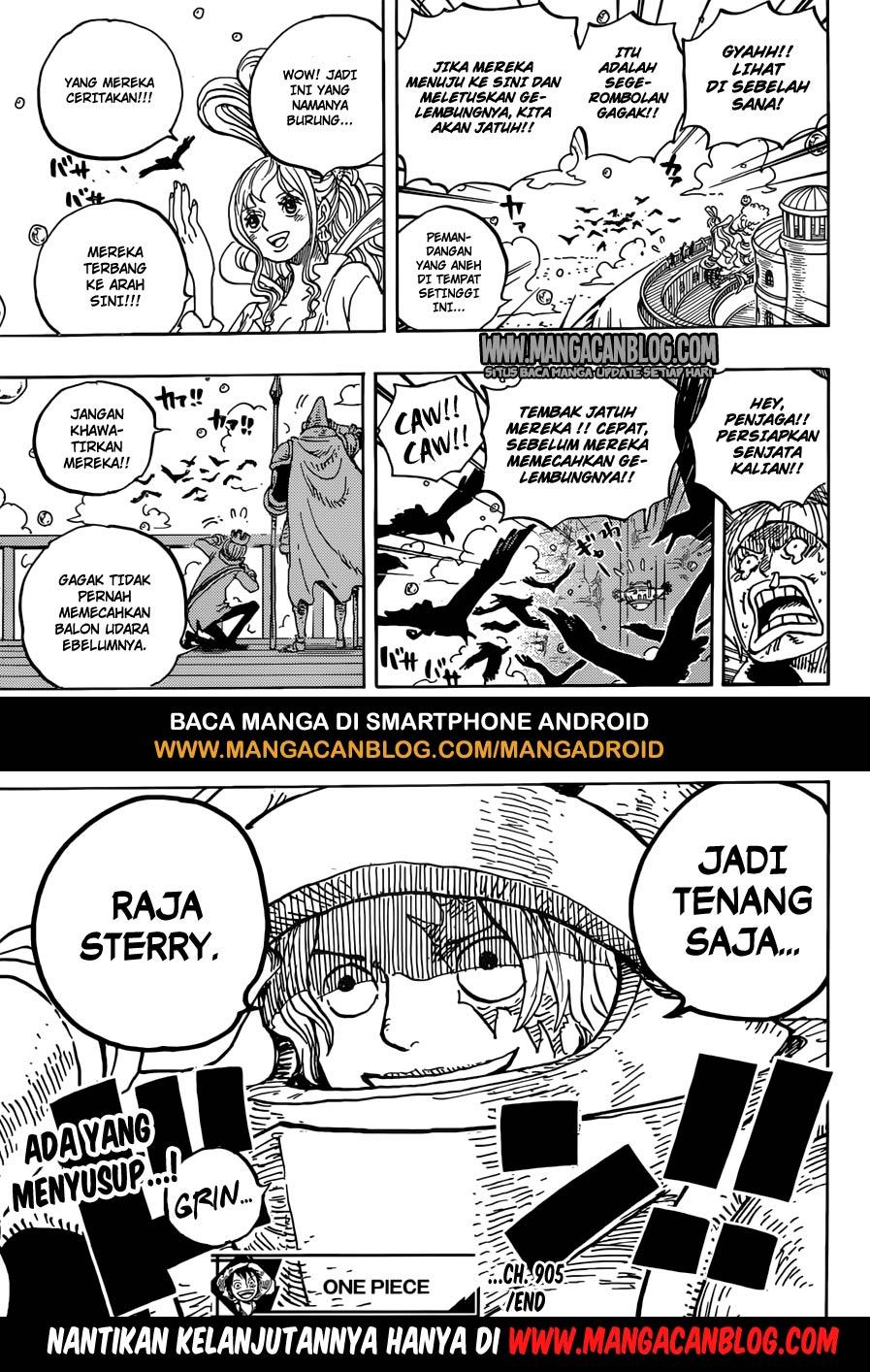 Komik Manga One Piece Chapter 906 Bahasa Indonesia