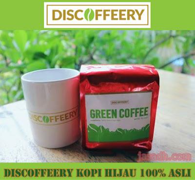 Green Coffee : Discoffeery Kopi Hijau 100% Asli