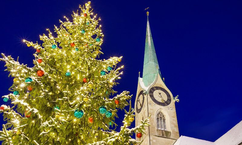 4-Day Zurich, Lucerne, and Konstanz Christmas Market Package