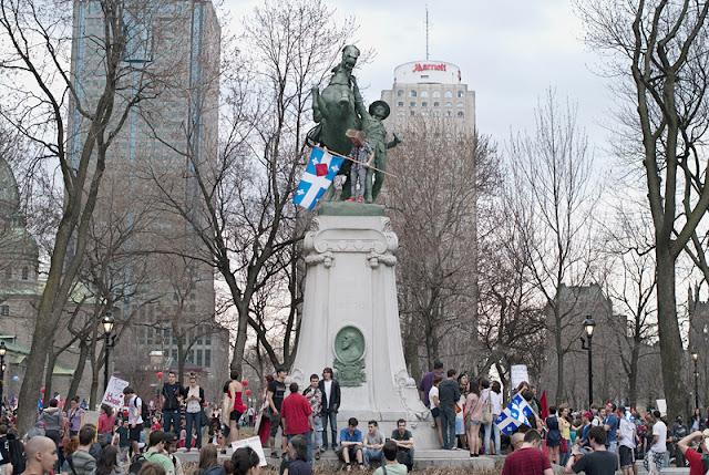 Manifestation étudiante du 22 mars 2012, Montréal [photos David Champagne]