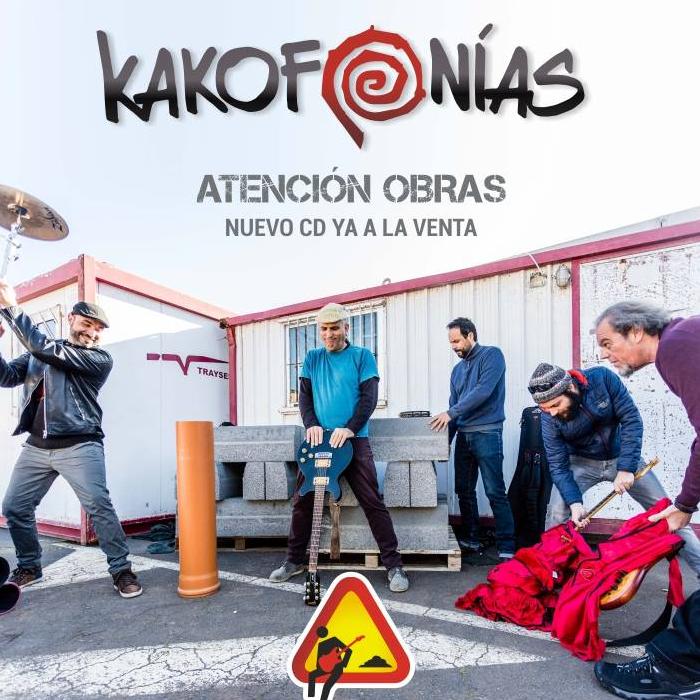 Atención obras el disco de Kakofonías ya está a la venta