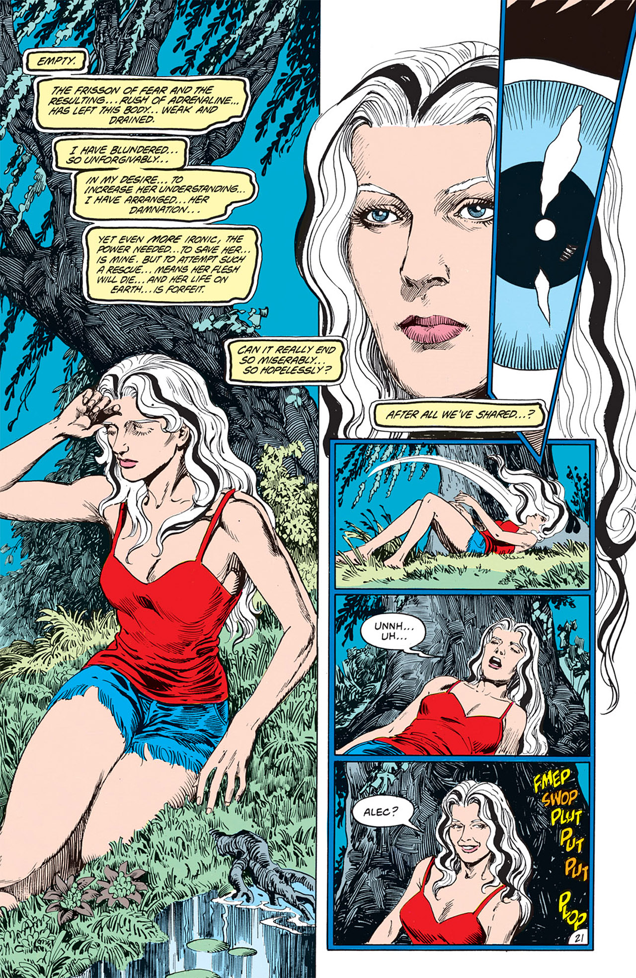 Swamp Thing (1982) Issue #66 #74 - English 21