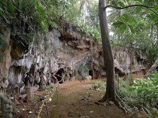 Kuba, Baracoa, archäologisches Museum, Tainohöhlen