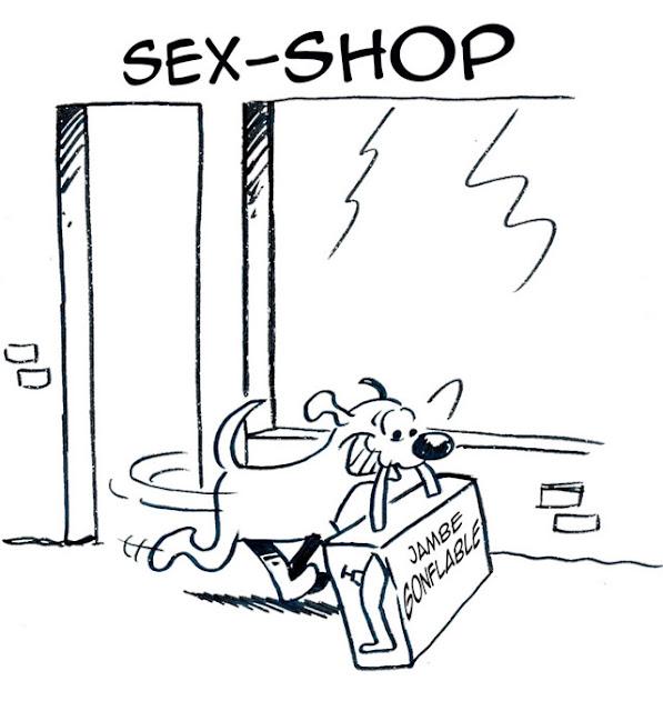 dessin humoristique chien, Ipad