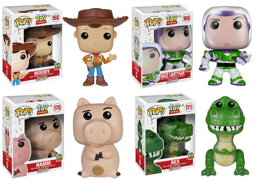 Collecting Toyz Toy Story 20th Anniversary Pop Vinyl Figures