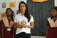 Actress Priya Anand in T Shirt with Students of Shiksha Movement Events 46.jpg