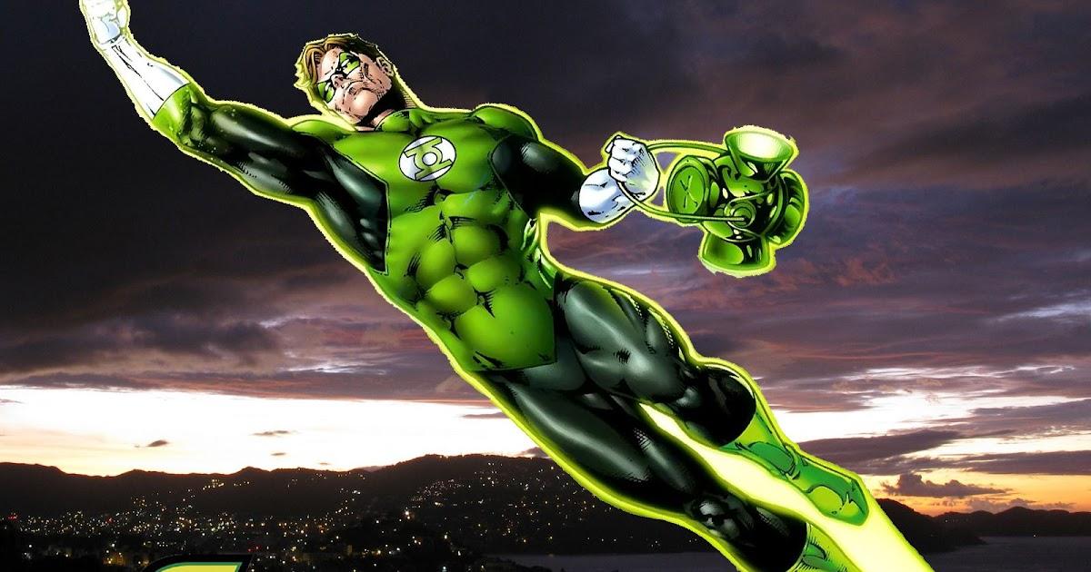 Supereroe lanterna verde