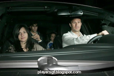 Ricardo Carvalho and his wife