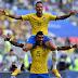 Com Neymar inspirado, Brasil bate México e avança às quartas