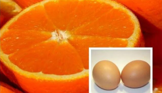 Kombinasi Telur dan Jeruk, Menurunkan 15 Kg dalam 14 Hari