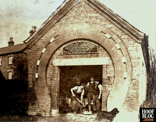 farriers in Gonalston England in 1912
