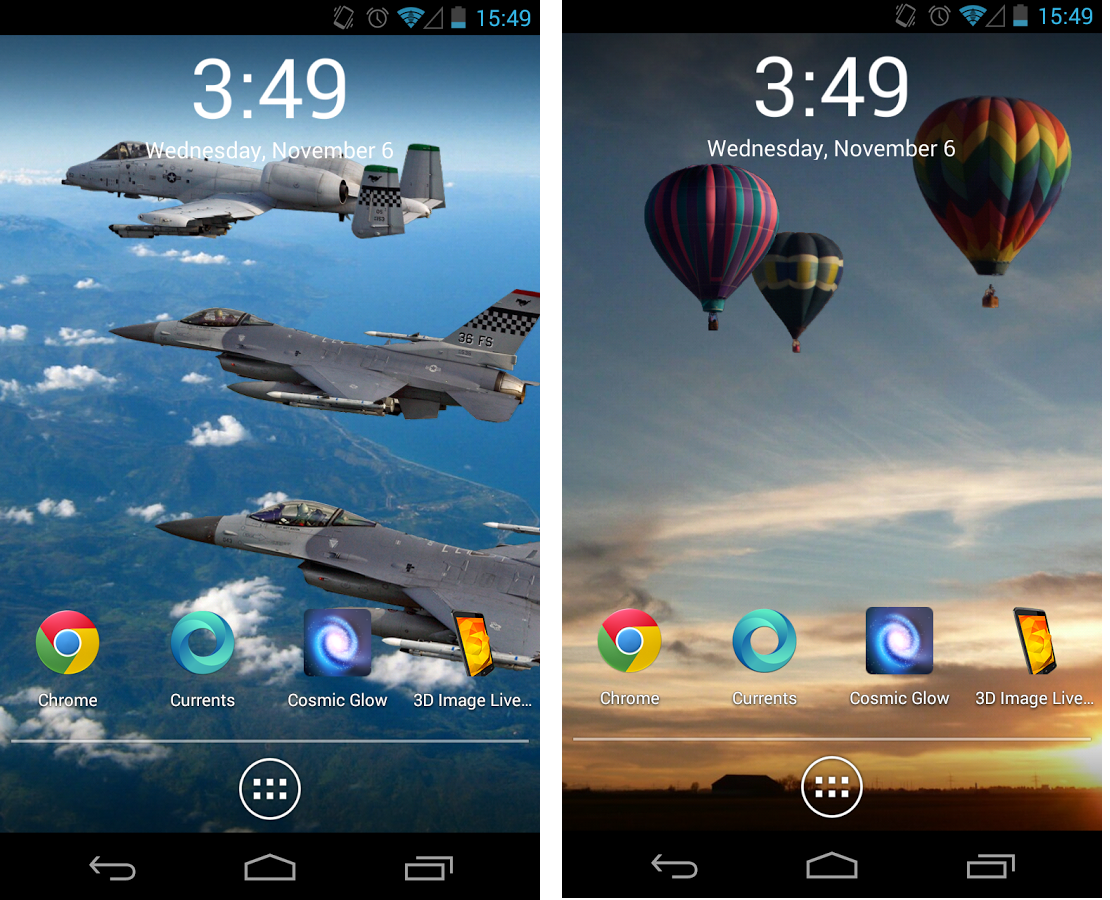 3D Image Live Wallpaper Apk Free Download