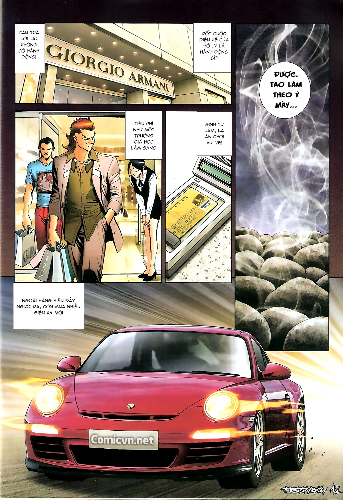 Người Trong Giang Hồ - Chapter 1350: Chơi tới cùng 2 - Pic 10