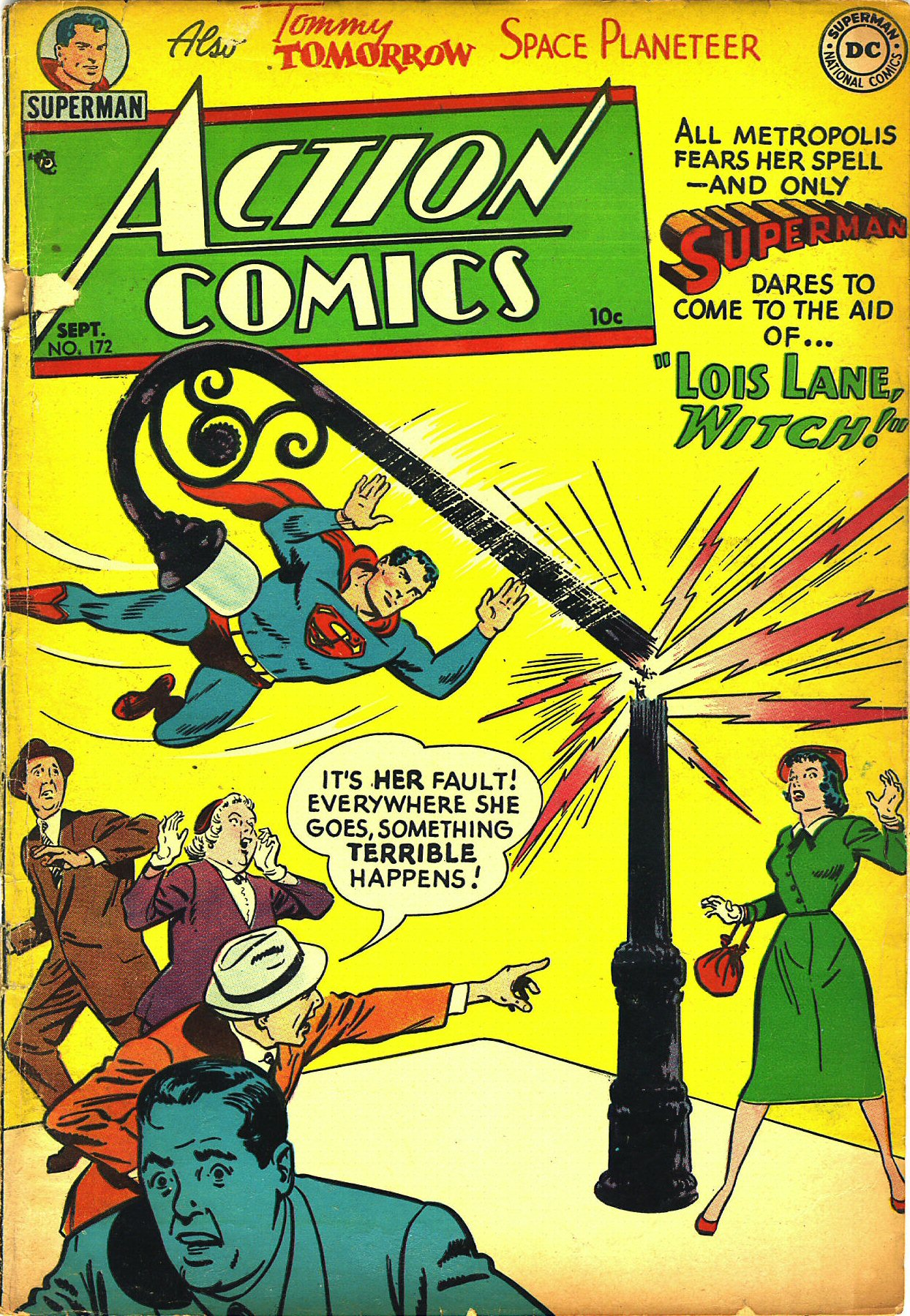 Read online Action Comics (1938) comic -  Issue #172 - 1