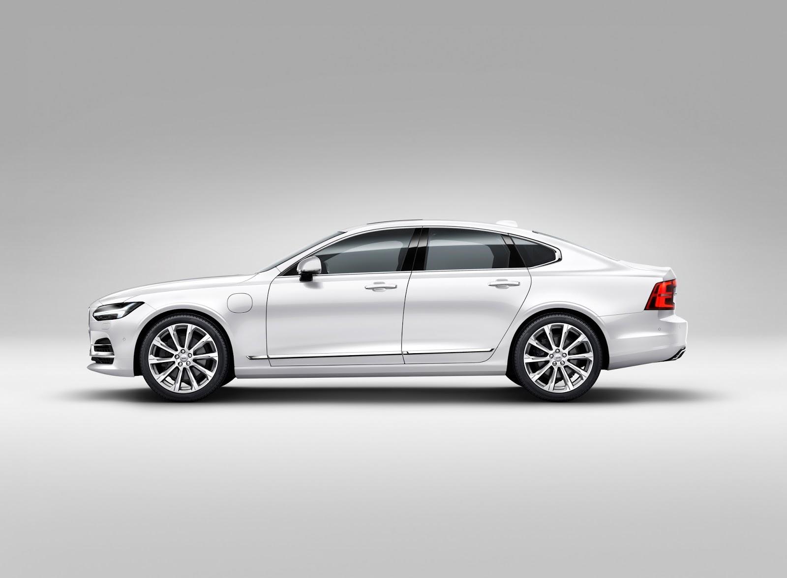 170146 Profile Left Volvo S90 White Το νέο Volvo S90 έρχεται και βάζει φωτιά στον ανταγωνισμό premium sedan, Volvo, Volvo Cars, Volvo S90