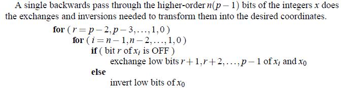 Grant Trebbin: Calculating Hilbert Curve Coordinates
