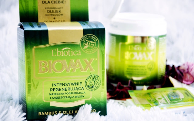 ** BIOVAX Intensywnie regenerująca maseczka pogrubiająca i zagęszczająca włosy BAMBUS & OLEJ AVOCADO ** - Czytaj więcej »