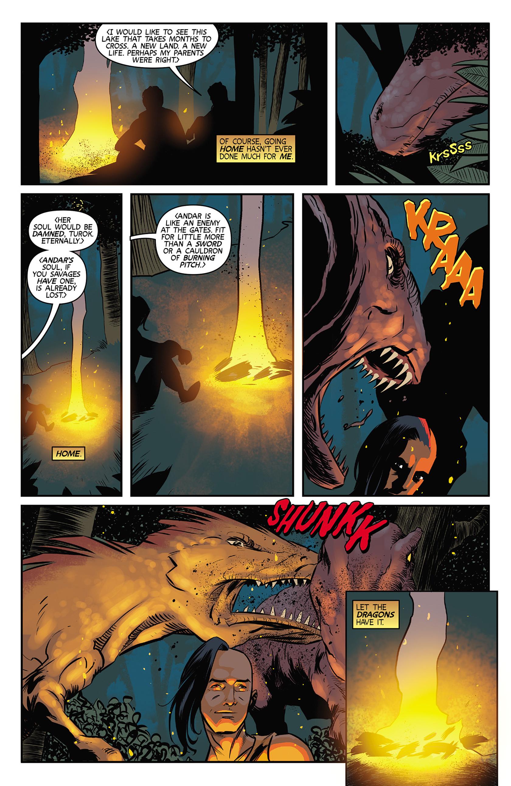 Read online Turok: Dinosaur Hunter (2014) comic -  Issue #9 - 12