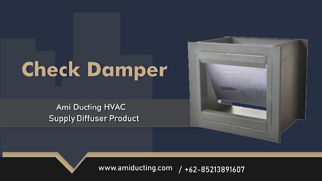 Check Damper Aksesoris Ducting